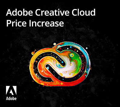 Adobe Creative Cloud Price Increase