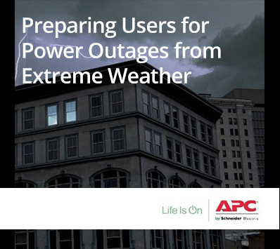APC: Preparing Users for Power Outages from Extreme Weather