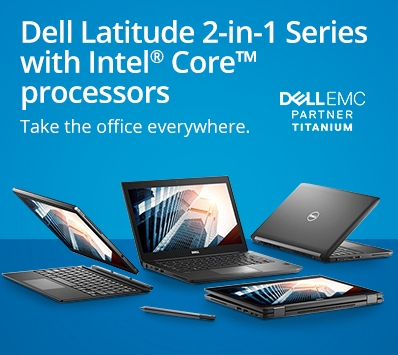 Dell Latitude 2-in-1 Series with Intel Core processors