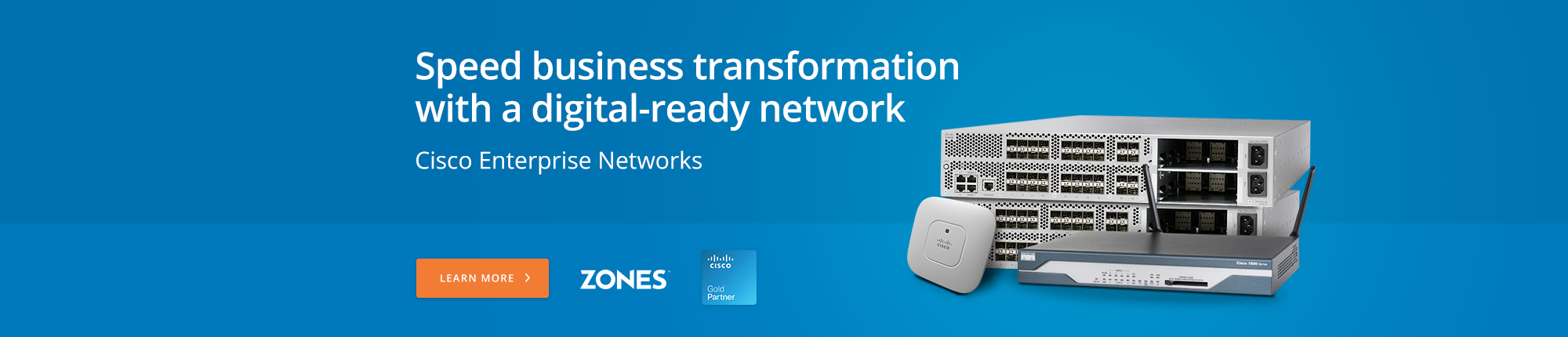 Speed business transformation with a digital-ready network
