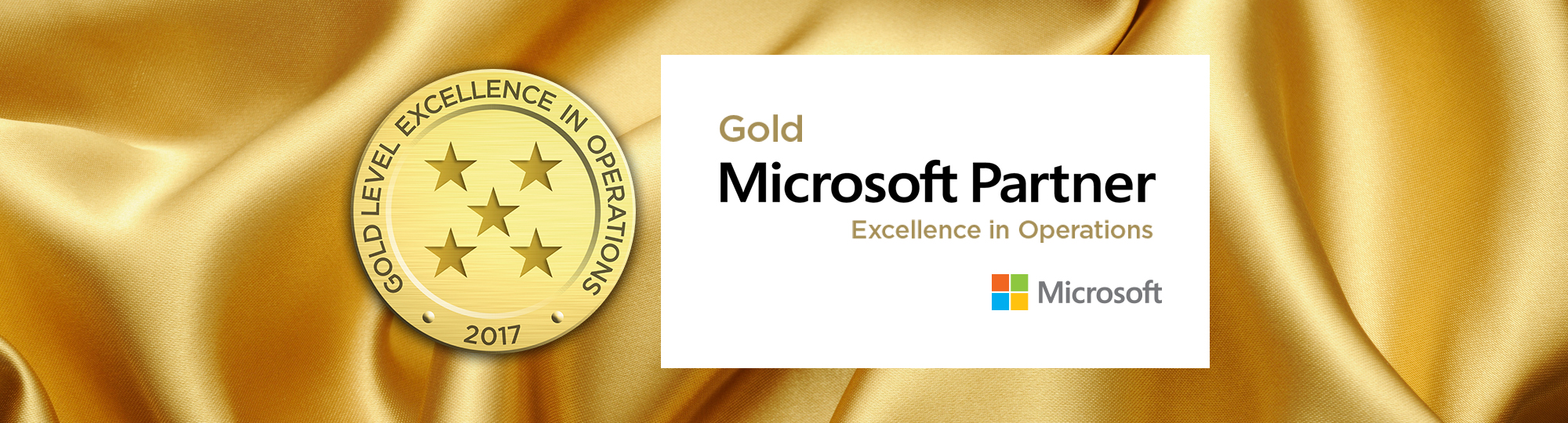 Microsoft Excellence in Operations Award