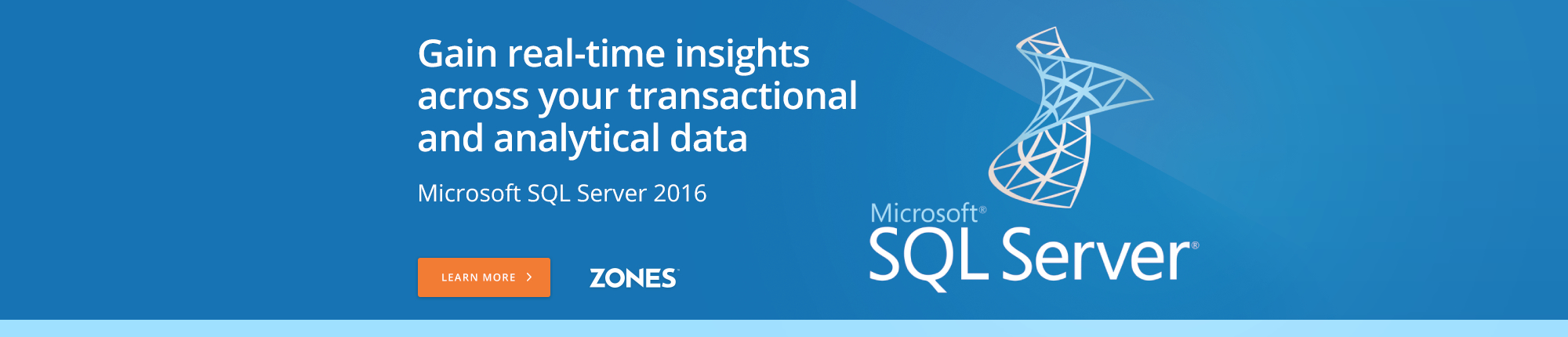 Gain real-time insights across your transactional and analytical data