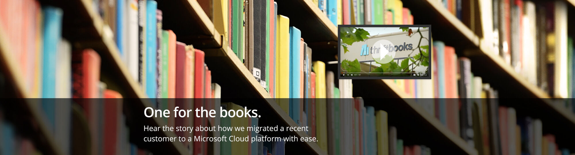 Hear the story about how we migrated a recent customer to a Microsoft Cloud platform with ease.