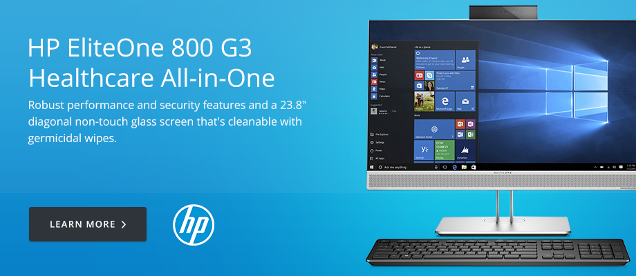 HP EliteOne 800 G3 Healthcare All-in-One