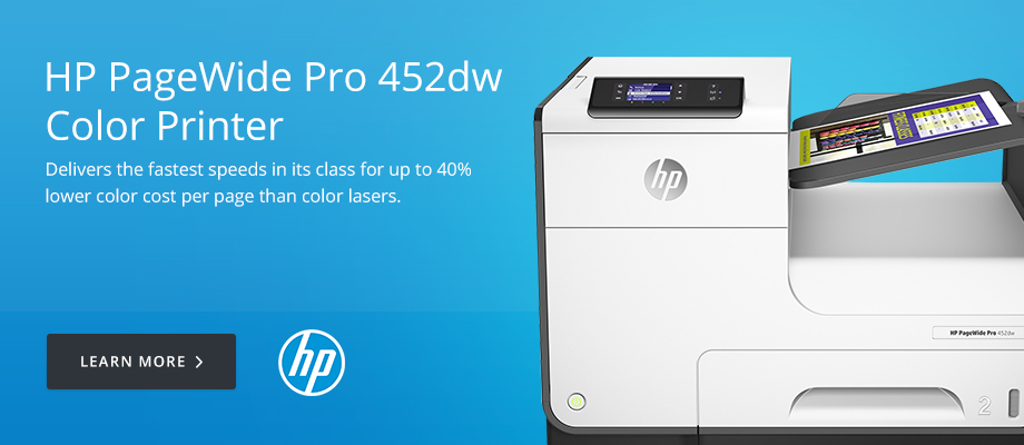 HP PageWide Pro 452dw Color Printer