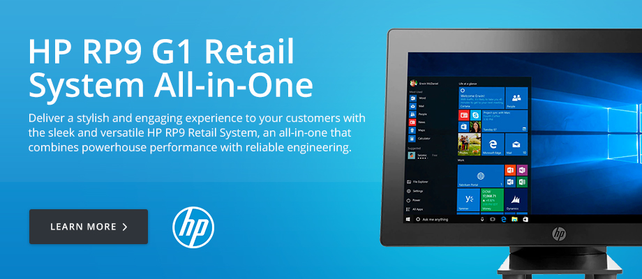 HP RP9 G1 Retail System All-in-One