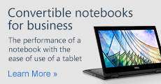 Convertible notebooks for business