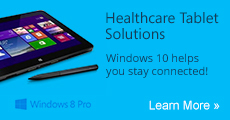 Windows 8 and Clinical Tablet