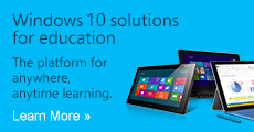 Windows 8 solutions for education