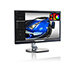 Philips - Philips 228P6LJEB 28in UHD 4K 3840x2160 LED Monitor with Height Adjustable Pivot Stand and Built-in Speakers