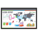 Planar Systems Inc - Planar LUX70-ERO-B-T 70in 1920x1080 LED 24x7 Rated Touch Display