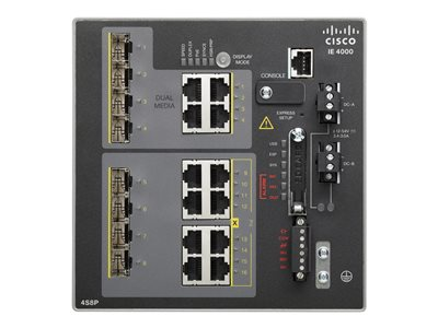 Cisco Industrial Ethernet 4000 Series Switch 12 Ports