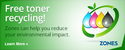 Free toner recycling! Learn more
