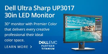 Dell Ultra Sharp UP3017 30in LED Monitor