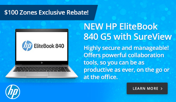 NEW HP EliteBook 840 G5 with SureView