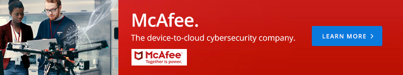 McAfee. The device-to-cloud cybersecurity company.