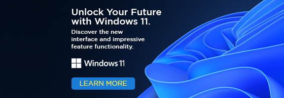 Unlock your future with Windows 11 - Discover the new interface and impressive feature functionality.
