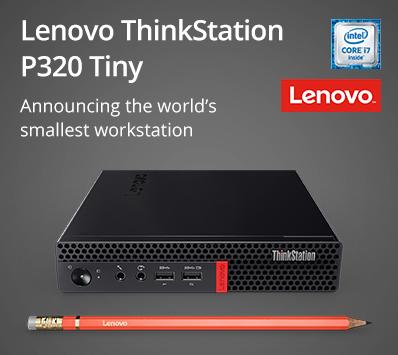 Lenovo ThinkStation P320 Tiny