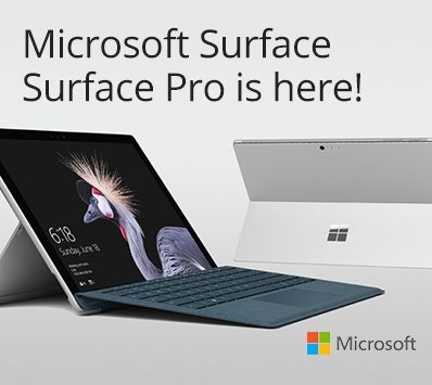 Microsoft Surface: Surface Pro is here