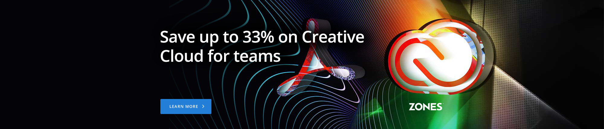 Adobe: Save up to 33% on Creative Cloud for teams