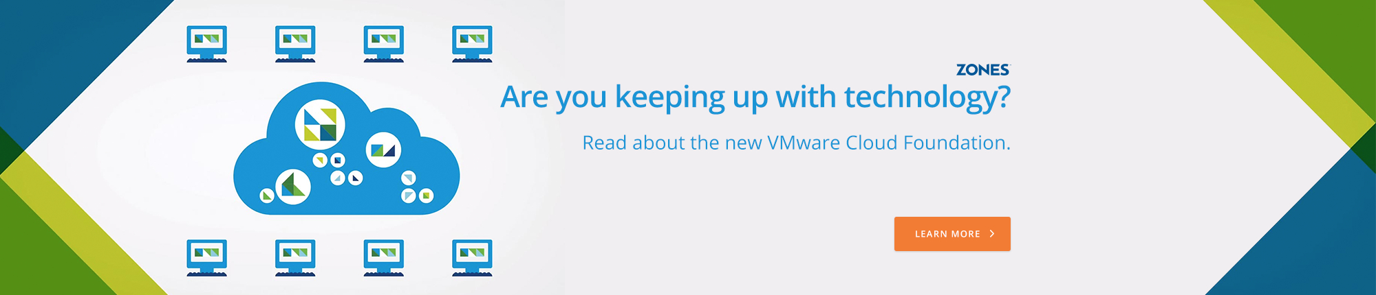Are you keeping up with technology? Read about the new VMware Cloud Foundation.