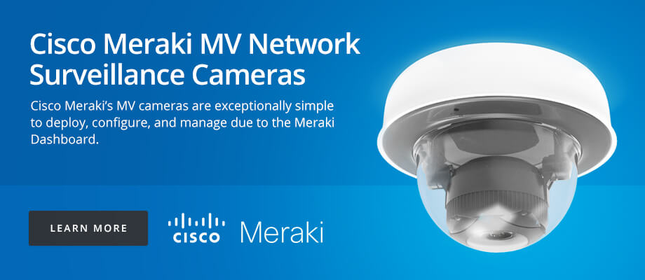 Cisco Meraki MV Network Surveillance Cameras