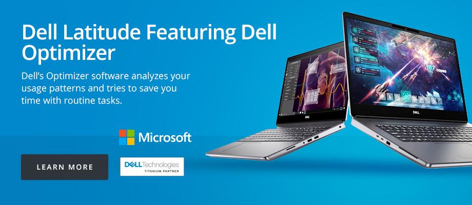 Dell Latitude Featuring Dell Optimizer