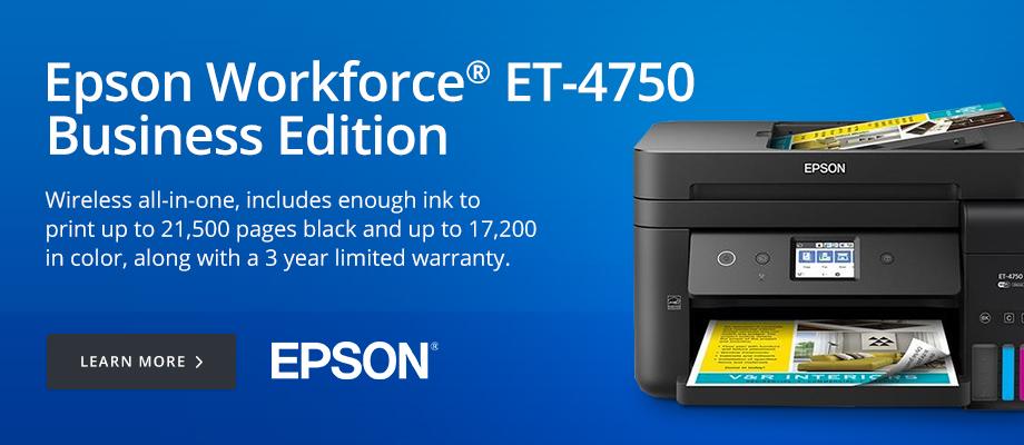 Epson Workforce ET-4750 Business Edition