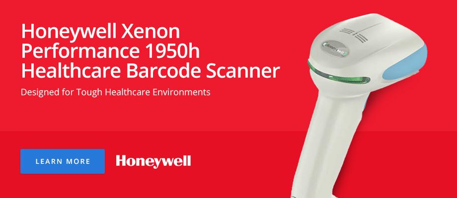 Honeywell Xenon Performance 1950h Healthcare Barcode Scanner