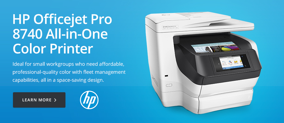 HP Officejet Pro 8740 All-in-One Color Printer