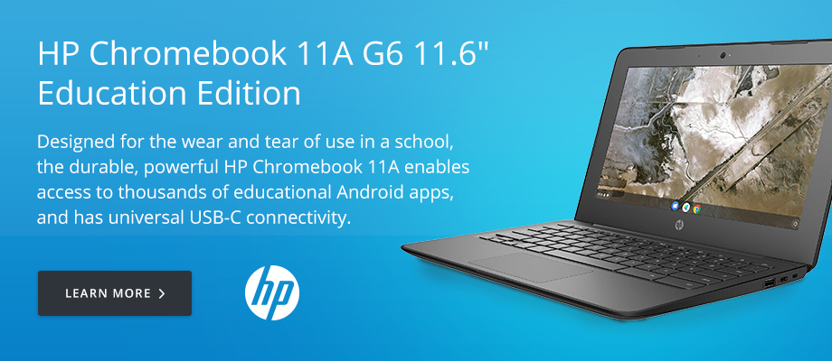 HP Chromebook 11A G6 11.6in Education Edition