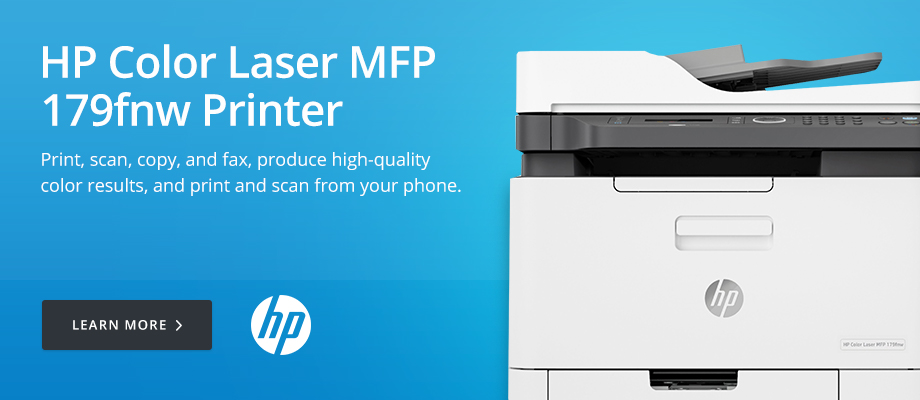 HP Color Laser MFP 179fnw Printer