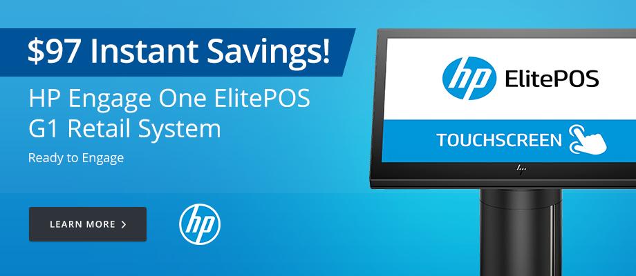 HP Engage One ElitePOS G1 Retail System