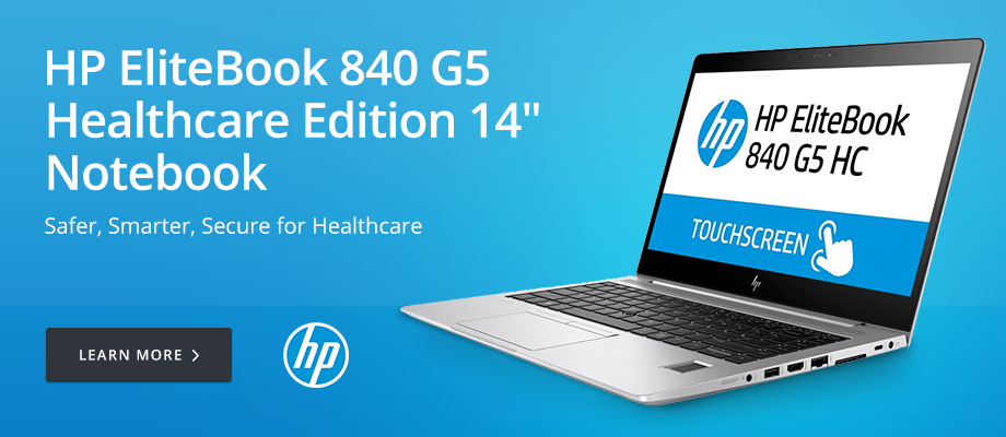 HP EliteBook 840 G5 Healthcare Edition 14in Notebook