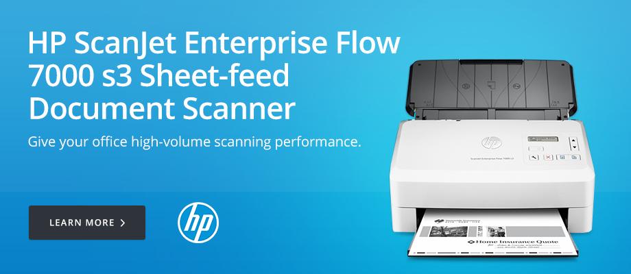 HP ScanJet Enterprise Flow 7000 Scanner
