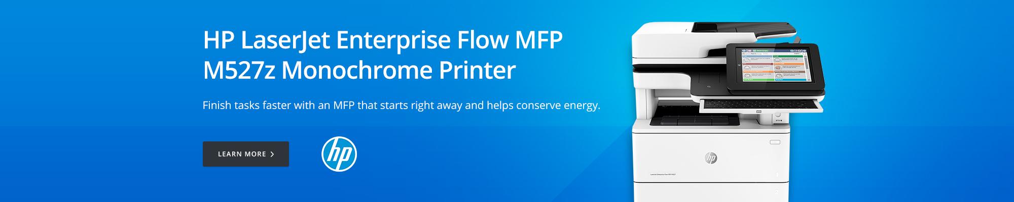 HP LaserJet Enterprise Flow MFP M527z Monochrome Printer