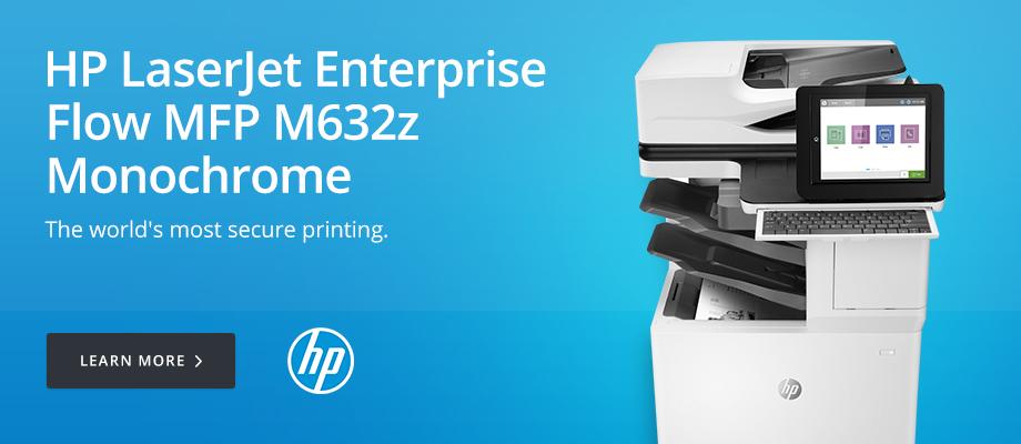 HP LaserJet Enterprise Flow MFP M632z Monochrome