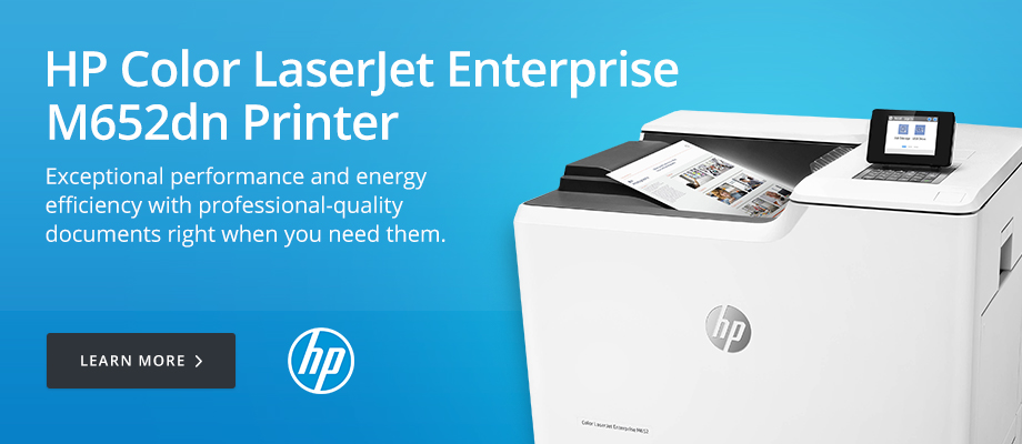 HP Color LaserJet Enterprise M652dn Printer