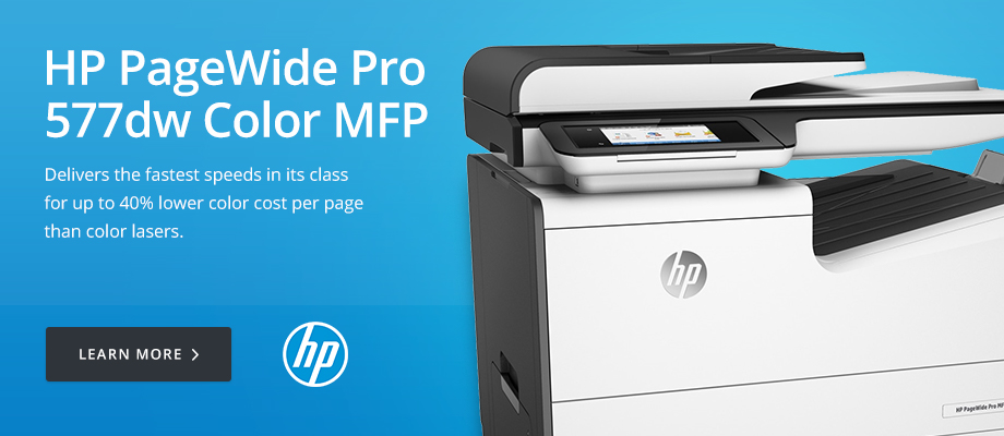 HP PageWide Pro 577dw Color MFP
