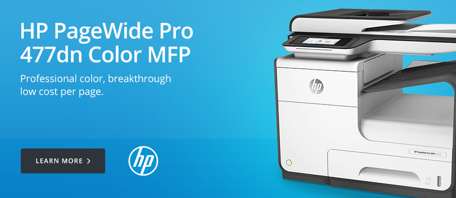 HP PageWide Pro 477dn Color MFP