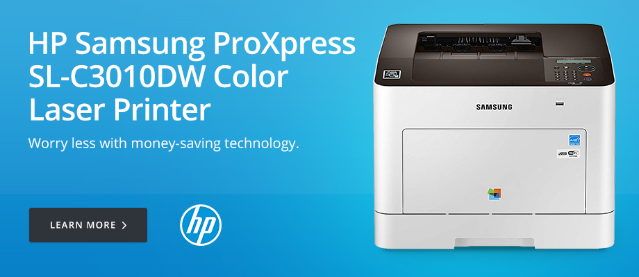 HP Samsung ProXpress SL-C3010DW Color Laser Printer
