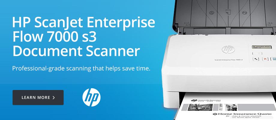 HP ScanJet Enterprise Flow 7000 s3 Document Scanner