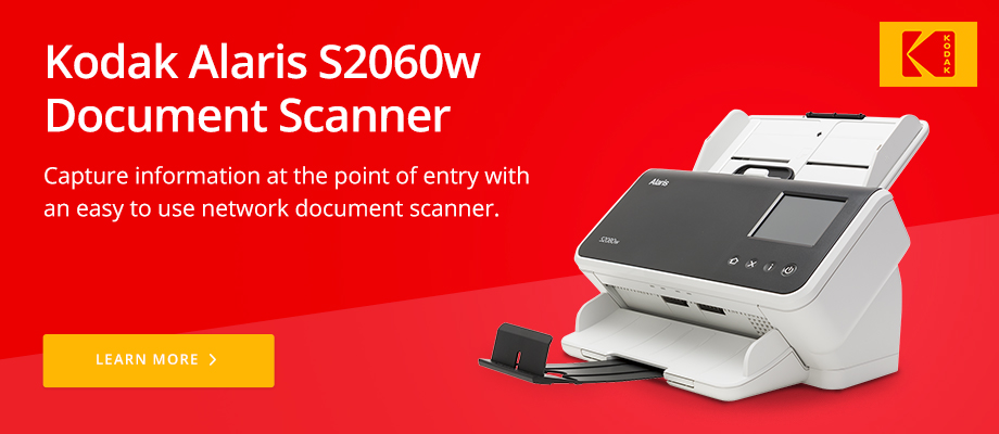 Kodak Alaris S2060w Document Scanner