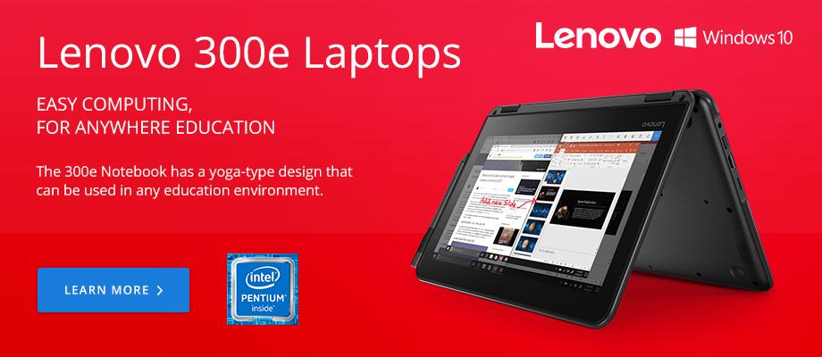 Lenovo 300e Laptops