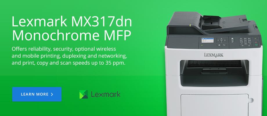 Lexmark MX317dn Monochrome MFP