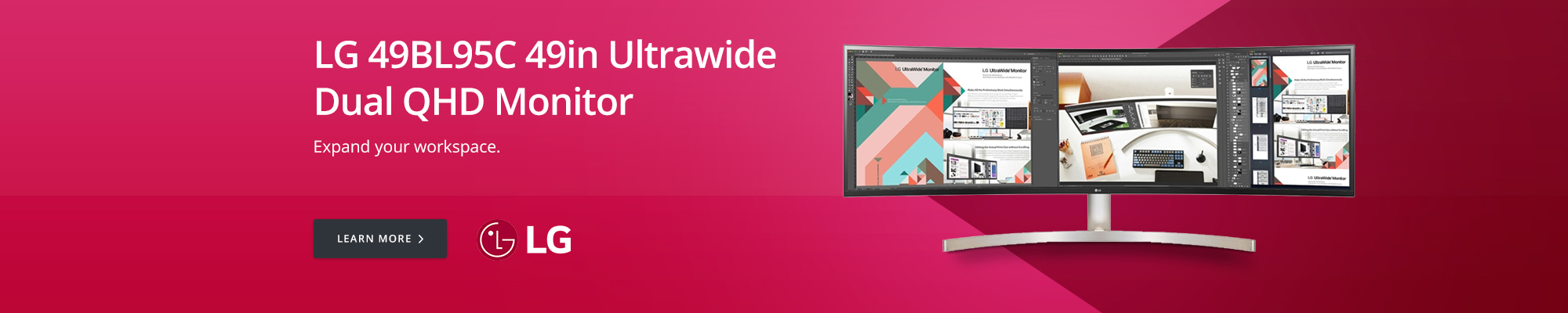 LG 49BL95C 49in Ultrawide Dual QHD Monitor