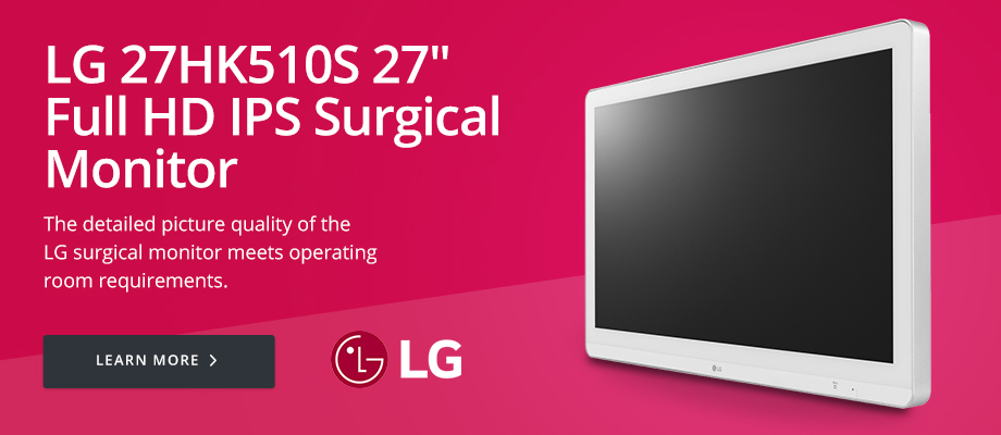 LG 27HK510S 27in Full HD IPS Surgical Monitor