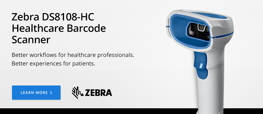 Zebra DS8108-HC Healthcare Barcode Scanner