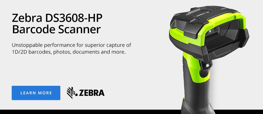 Zebra DS3608-HP Barcode Scanner