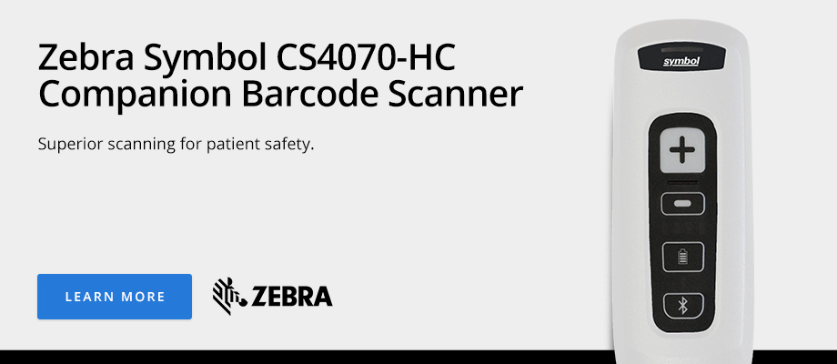 Zebra Symbol CS4070-HC Companion Barcode Scanner